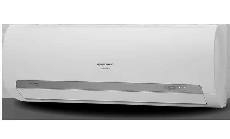e996656e3 Split Springer Midea 12.000 BTU h Frio. O ar-condicionado Springer Midea é  perfeito para ambientes residenciais. Com o seu exclusivo sistema de  tratamento ...